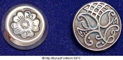 Bunad For Menn vektlegger også her kvalitet og håndverkstradisjon av aller ypperste klasse. Sølvnålen i halsen på skjorten til Trønderbunadene er laget som et klassisk anheng med Gotiske kors.