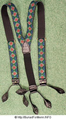 Bukseselene er beregnet for å holde bunadsbuksen oppe, samtidig som det var stas å dekorere dem med ulike mønstre og farger.