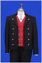 Gudbransdalsbunad med kort jakke for menn