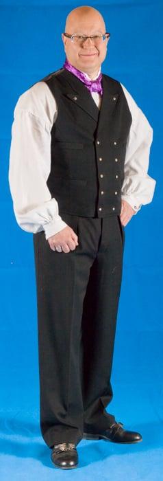 Buksen til Hallingbunaden er opprinnelig kun laget som lang bukse.