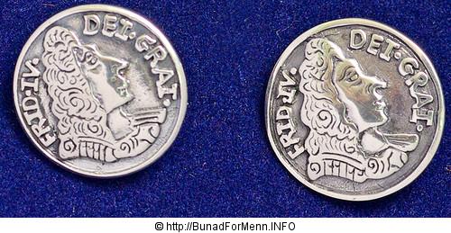 Sølvknapper til herrebunad fra Bunad For Menn
