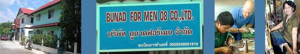 Henning Kumle lager bunad for menn i Chiang Mai i Thailand i østen